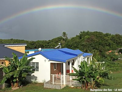 Photo for Holiday bungalow rentals located between Le Moule, Sainte-Anne and Saint-François