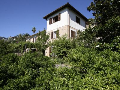 Photo for House between orange and priviegiadas garden overlooking the valley of Sóller.