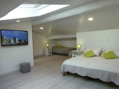 Photo for Ski in and out Duplex Ancolies, 46m2 in MEGEVE, 2 bedrooms 4/6 pers