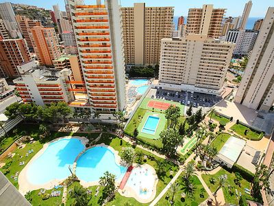 Photo for Apartment Gemelos 22 in Benidorm - 5 persons, 2 bedrooms
