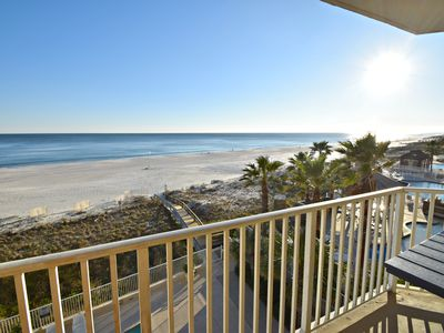 Photo for Four Winds 404 - Amazing Gulf Front Corner unit for an amazing Summer getaway!