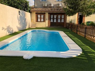 Photo for Self catering El Jardin Manchego for 8 people