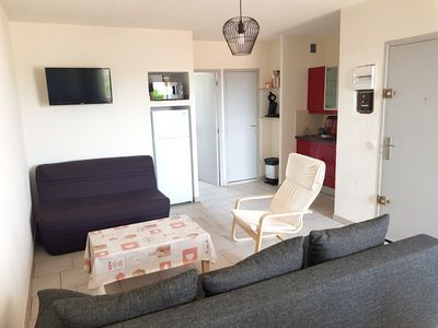 Photo for Homerez last minute deal - Nice apt with shared pool