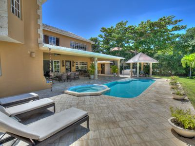 Photo for Exquisite Golf View and front Villa in Punta Cana