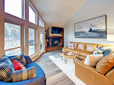 Photo for Remodeled Gem on Gore Creek w/ Deck & Views - Near Pool, Hot Tub & Shuttle
