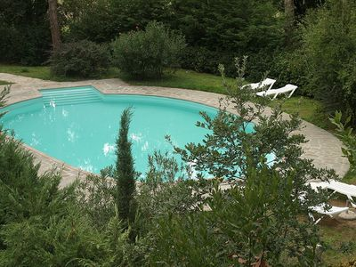 Photo for Villa Davide B: A welcoming apartment surrounded by the greenery, with Free WI-FI.