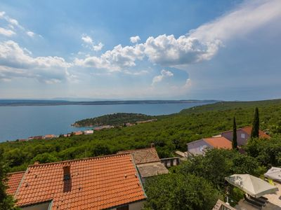 Photo for Two bedroom apartment with terrace and sea view Dramalj, Crikvenica (A-5551-c)