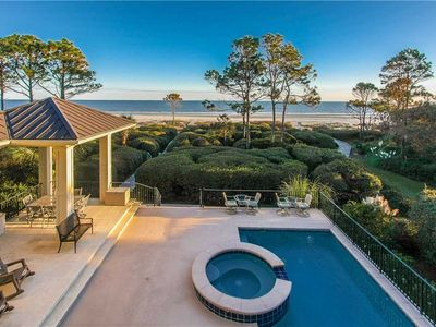 Photo for STUNNING Oceanfront Home with a Private Beach Path~ Pool & Hot Tub ~ Sleeps 18