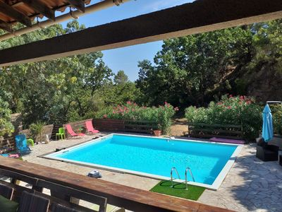 Photo for Riverside holiday home in the south of France