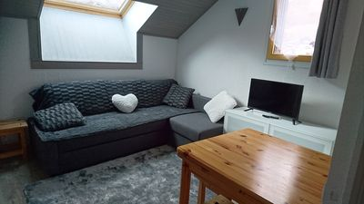Photo for SUPERB APARTMENT FULL SOUTH SKI ON FOOT 4/6 PEOPLE