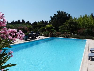 Photo for Provence, modern house of 250 m, pool, Jacuzzi & hammam