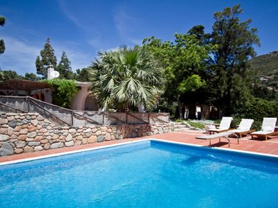 Photo for Exclusive Villa with Pool 20 meters from a sandy beach!