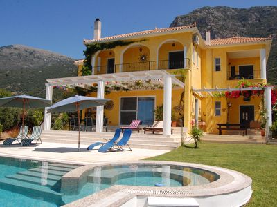 Photo for Exclusive Large Luxury Villa with Private Pool and Sea/Mountain views