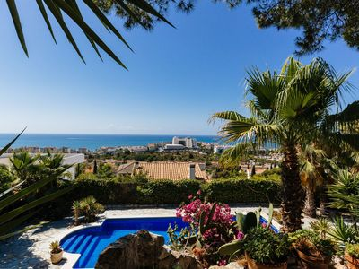 Photo for Stunning Villa with Amazing Seaviews, Private Pool and Gardens. Sleeps 14