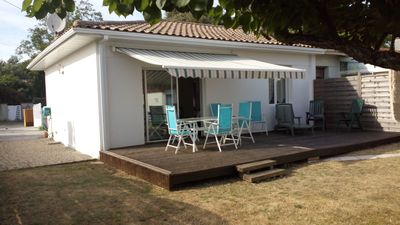 Photo for House Villa 6pers 50m from the beach of Verdon sur Mer