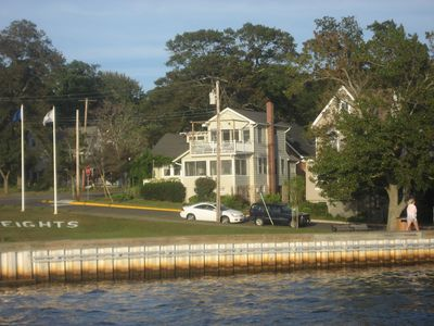Cottage as seen from Toms River
