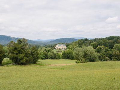Photo for Nature lovers dream! Country estate with stunning Blue Ridge Mountain views.