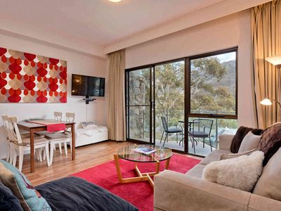 Photo for Charming apartment with wonderful mountain views
