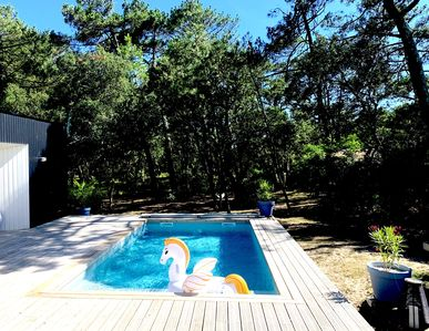 Photo for Stunning villa with heated pool - 150m from the beach - In construction