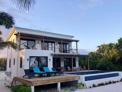 NEW PRIVATE BEACHFRONT Home with COOK & POOL!  Luxury in Paradise! On the Sea!
