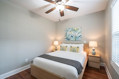 Master Bedroom with Great Closet Space