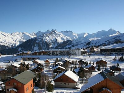 Photo for La Toussuire: Comfort and breathtaking views for a dreamy winter holiday