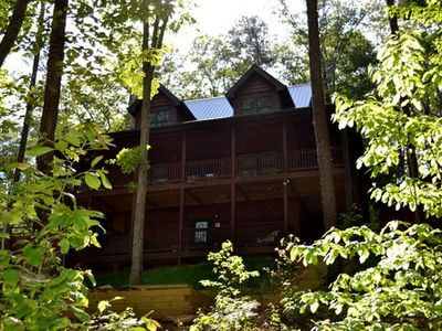 Photo for Spacious & Secluded Cabin 7 Miles to Blue Ridge Attractions & Near Ocoee River Rafting