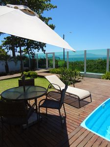 Photo for Wonderful 3 bedroom apartment on the seafront at Praia da Cachoeira