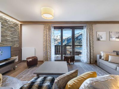 Photo for 3BR Apartment Vacation Rental in COURCHEVEL VILLAGE