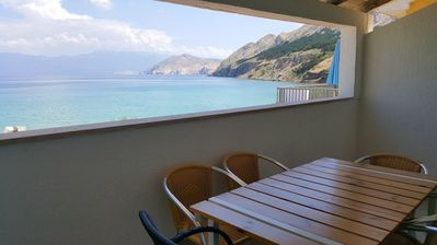 Photo for Holiday home with sea view, SAT, air conditioning, Internet via W-LAN
