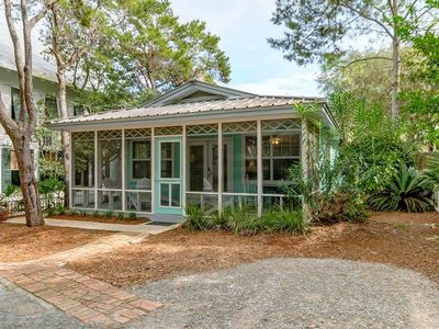 Photo for Moondance, Adorable 3BR Beach Cottage w/ Private Pool, Short Walk to Seaside & the Beach!