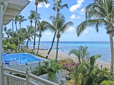 Photo for Reeds House #10 - luxury 2 bedroom beachfront apartment with direct beach access