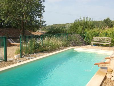 Photo for Beautiful Stone Farmhouse with Saltwater Pool in Peaceful Hamlet. Stunning Views