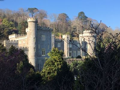 Photo for Spacious, self contained flat within this Historic Castle of Caerhays, within walking distance of th