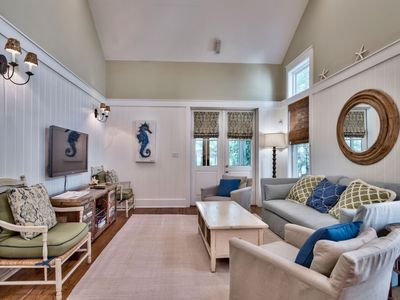 Photo for Lyonia - Amazing Central Watercolor Location! Updated Decor - Next to Tennis Courts - 3 Bikes!