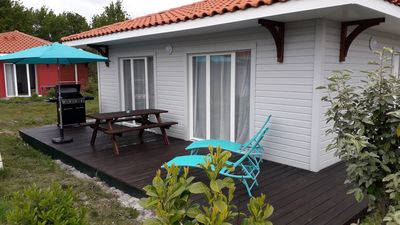 "Photo for Rental ""Villa 17"" at the edge of Lake Biscarrosse - Parentis"
