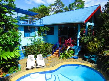 CASA AZUL With POOL - Lush Tropical Oasis - Steps to Pavones Point Break & River
