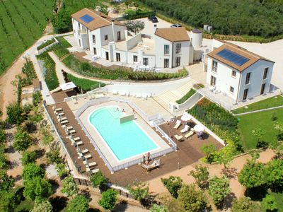 Photo for Modern Holiday Home in Pedaso with Pool