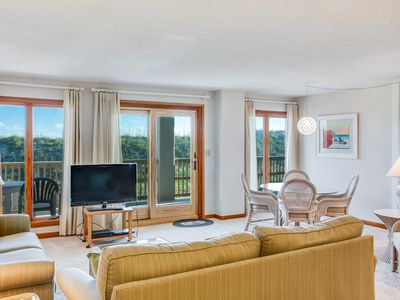 Photo for A Wave From It All:  3 Bedroom Oceanfront Condo with Access to Beach and Community Pool