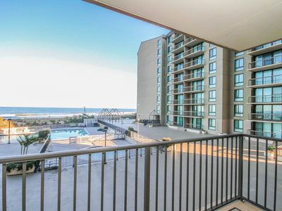 Photo for H203: 2BR+den Sea Colony Oceanfront Condo! Private beach, pools, tennis ...