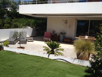 Photo for Furnished tourist classified 4 stars, calm, clim, terrace and garden, swimming pool