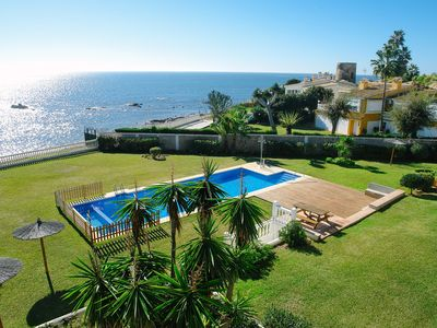 Photo for SEA FRONT VILLA COSTA DEL SOL