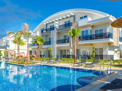 Photo for Bellflower Apartment: Swimming Pool, A/C, WiFi, Car Not Required