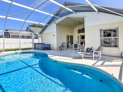 Photo for Immaculate Villa with POOL, HOT TUB & GAMES ROOM - 7 min to Disney