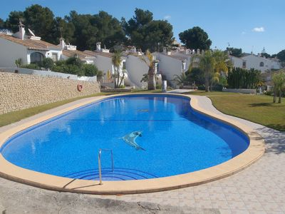 Photo for Lovely 2 bedroom villa with pool in Moraira