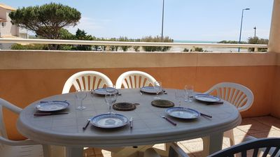 Photo for NARBONNE-PLAGE 3 bedrooms apartement with beautiful view on the sea