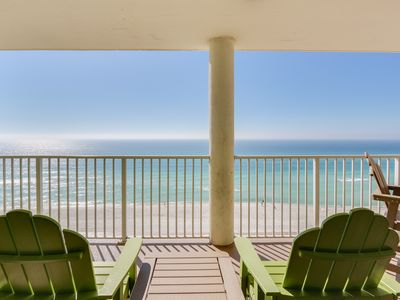 Photo for 3 Bedroom, 3 Bath / Gulf Front / Sleeps 12 / 9th Floor