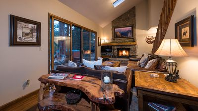 Photo for NEW! Magical Riverside Home with Salt Water Hot Tub near Rocky Mtn National Park