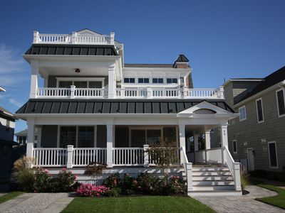 Photo for AVALON 7BR, 7-1/2BA NEW CONSTRUCTION W/POOL & ELEVATOR! CLOSE TO BEACH & TOWN.