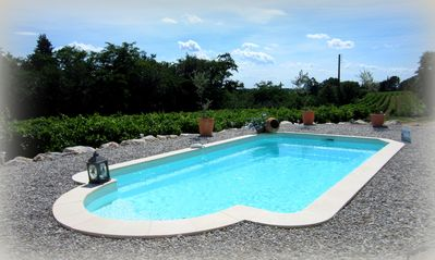 Photo for Charming Provençal villa between scrubland & vineyards with private pool & spa & infrared sauna